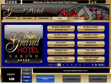 Grand Hotel Casino Software Preview