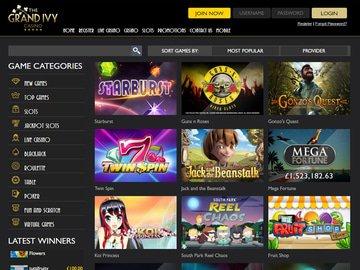 Grand Ivy Casino Bonus Review for Canadians