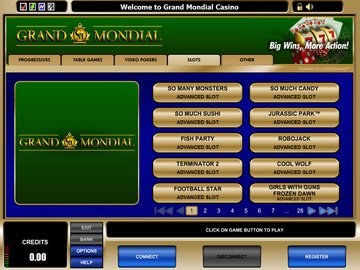 Grand Mondial Casino Software Preview