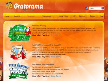 Gratorama Casino Software Preview