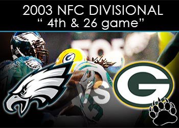 Green Bay Packers vs Philadelphia Eagles - The 4th and 26 Game
