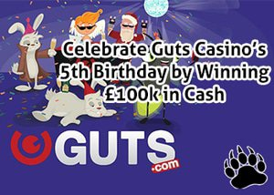 Guts Casino 5th Birthday Celebration