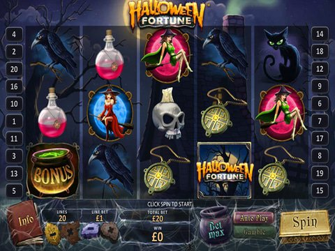 Halloween Fortune Game Preview