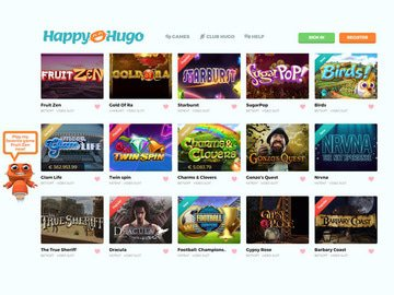 Happy Hugo Casino Software Preview