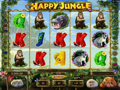 Happy Jungle Game Preview