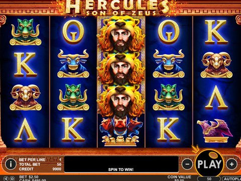 Hercules: Son of Zeus Game Preview