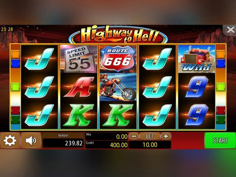 Play Highway to Hell free online slots with no download required!
