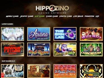 Hippozino Casino Software Preview