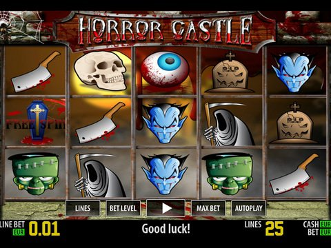 Play Horror Castle slot machine free with no regstration