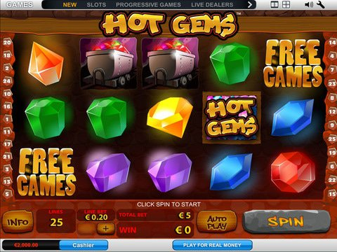 Hot Gems Game Preview