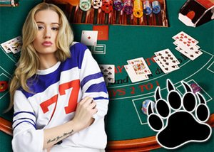 Iggy Azalea's Celebrity Blackjack Session