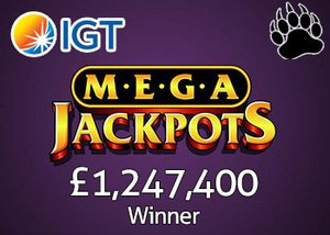 Player wins IGT MegaJackpots Progressive Jackpot