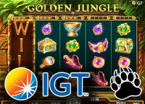 New golden jungle slot release from IGT