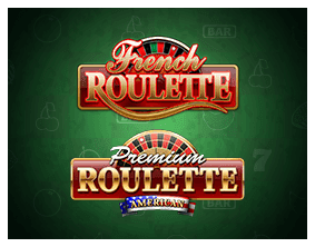 french and american roulette games