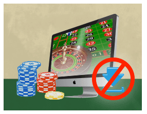 play roulette with no download