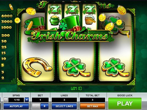 Irish Charms Game Preview