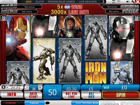 Iron Man 2 Game Preview