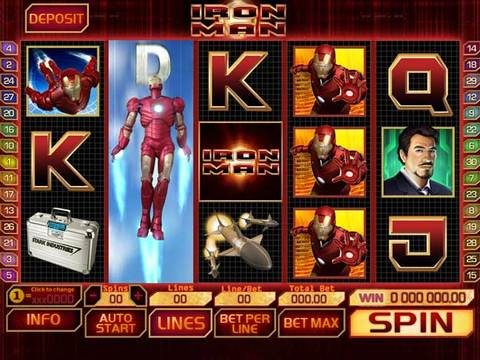 Iron Man Game Preview