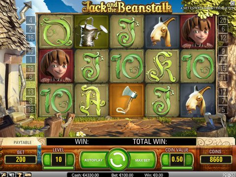 Jack and The Beanstalk Game Preview