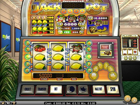 Jackpot 6000 Game Preview