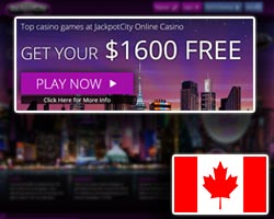 jackpot city casino welcome bonus and promotions