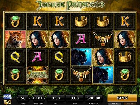 Jaguar Princess Game Preview