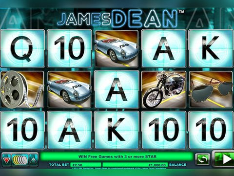 Play James Dean Slot Free In No Download Demo Mode