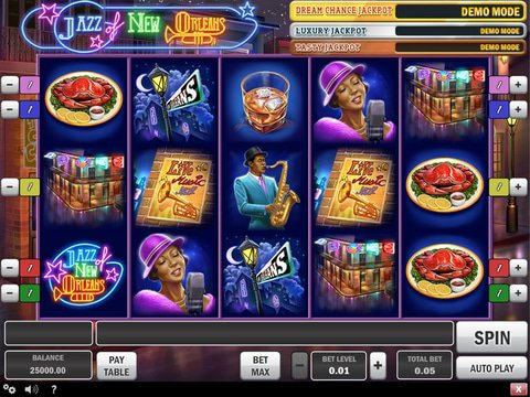 Play Jazz Of New Orleans Slots Here For Free