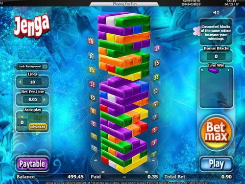 Jenga Jenga Game Preview
