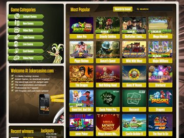 Joker Casino Software Preview