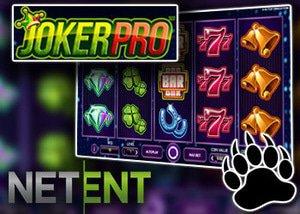 new joker pro slot from netent