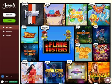 Joreels Casino Software Preview