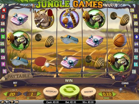 Jungle Games Game Preview