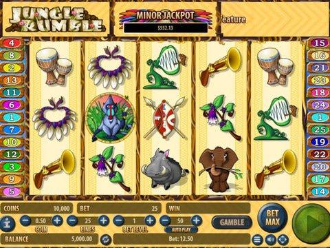 Jungle Rumble Slot Machine Demo