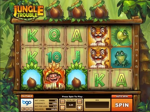 Jungle Trouble Game Preview
