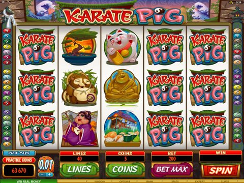 Karate Pig Game Preview