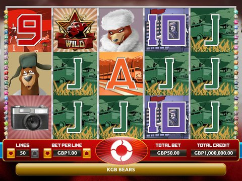 Play KGB Bears Slots Free With No Download Today