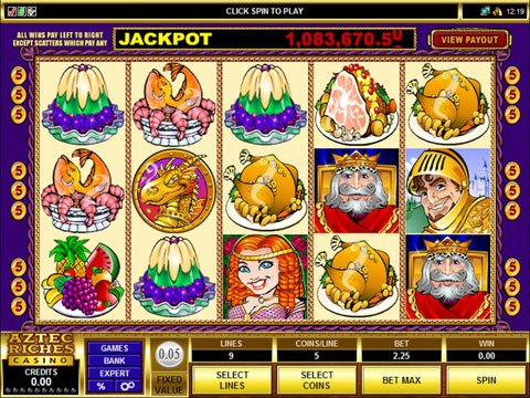 Get Rich with No Download King Cashalot Slots