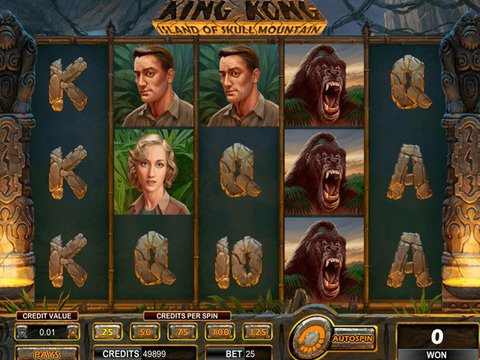 King Kong Island of Skull Mountain Game Preview