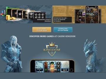 Kingdom Casino Software Preview