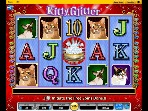 Kitty Glitter Game Preview