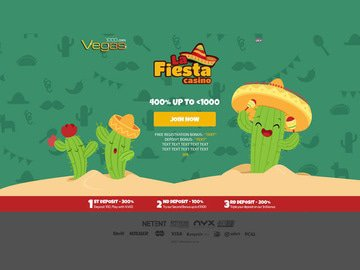 La Fiesta Casino Software Preview