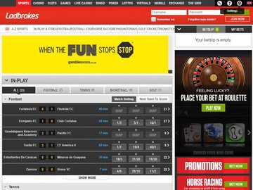 Ladbrokes Homepage Preview