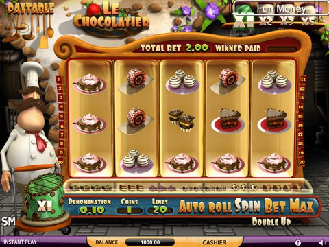 Play the Free Slot Le Chocolatier From SkillOnNet Casinos
