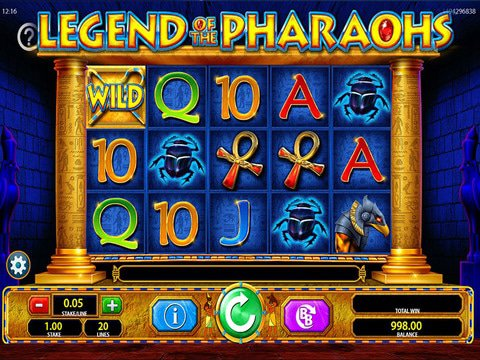 Legend of the Pharaohs Game Preview