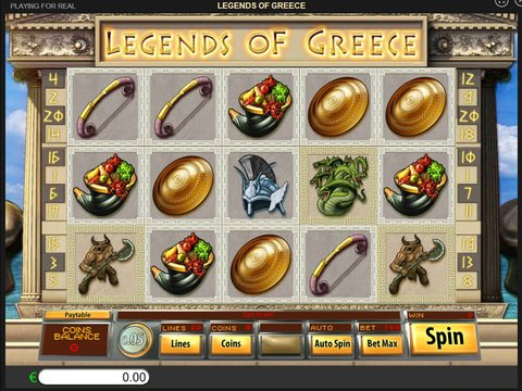 Legends Of Greece Game Preview