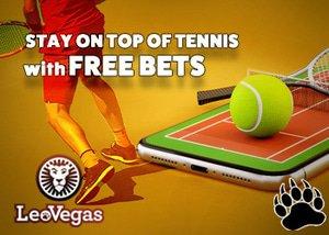 LeoVegas Casino Tennis Free Bets Promo