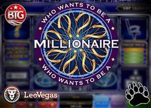 LeoVegas Casino Who Wants to be a Millionaire Slot