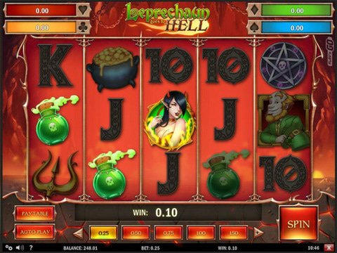 Leprechaun Goes to Hell Game Preview