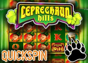 new leprechaun hills slot quickspin casinos